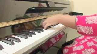 Munbe va (sillunu oru kadhal)-Preminche premava song piano cover by SHARANA SREE