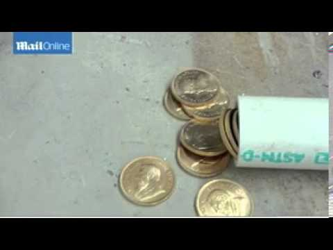 Gold coins found in safe set for scrap