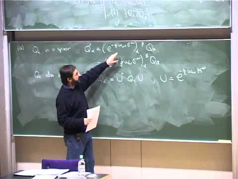 Lec 04 - Supersymmetry | University of Cambridge