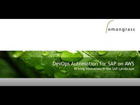 SAP on AWS Web Day | Innovate your DevOps for SAP on AWS