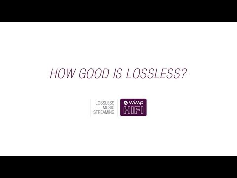 How good is lossless sound quality? (WiMP HiFi)