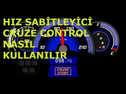 Hiz Sabitleyici Cruise Control Nasil Kullanilir Araba Videosu