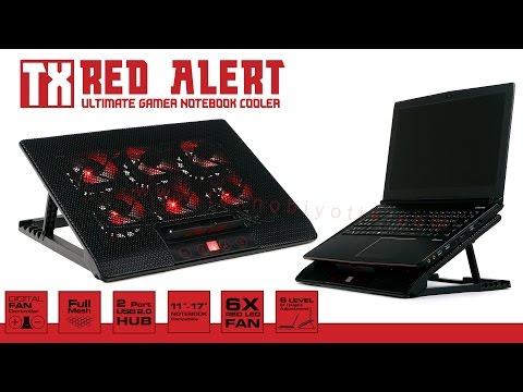 TX Red Alert Sıradışı Notebook Soğutucu Stant İncelemesi