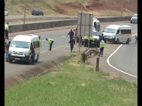 Disruption caused by kombi drivers and conductors