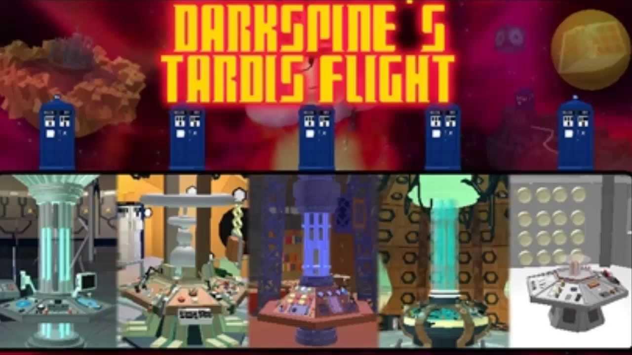 Roblox Doctor Who: Tardis Flight - YouTube