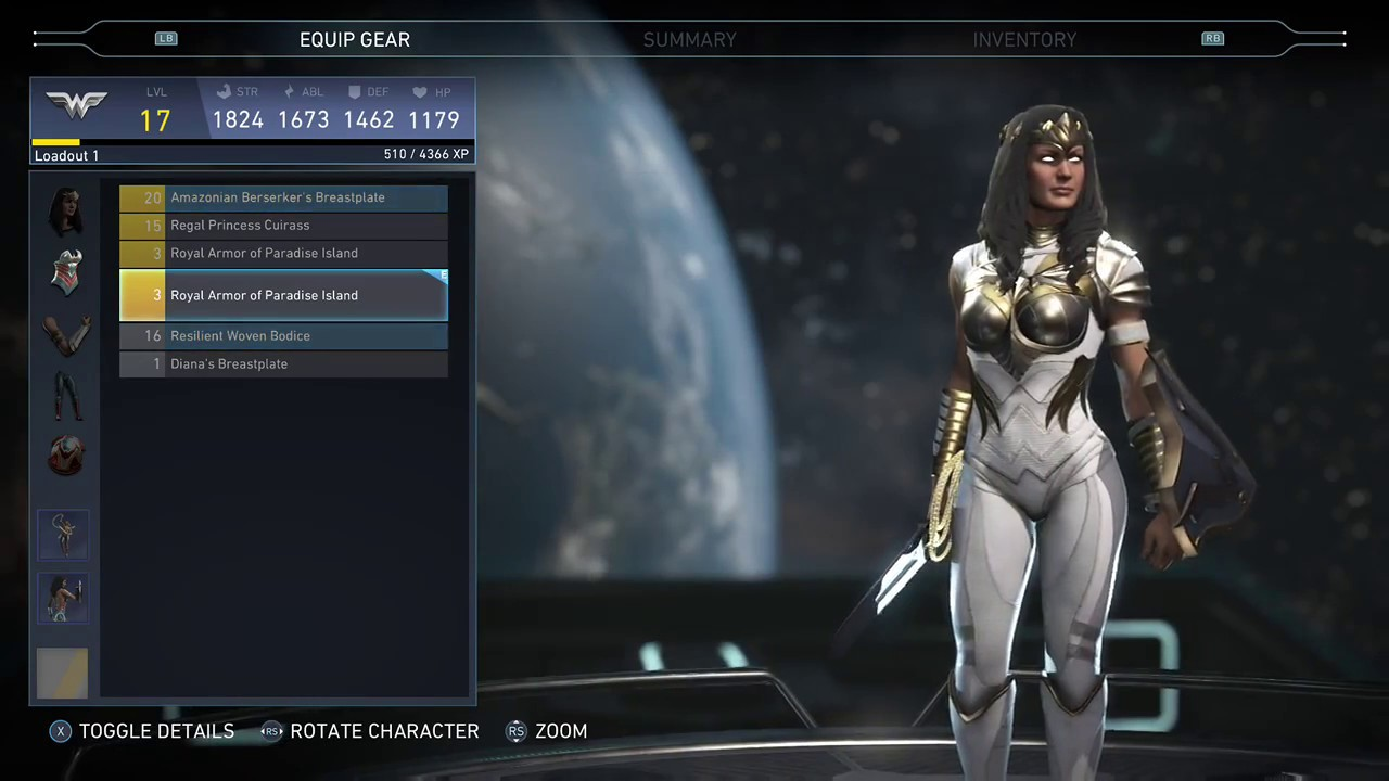 injustice 2 how to get mythic wonder woman