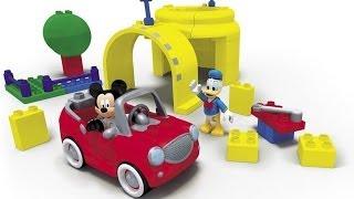 Мультик Лего - Клуб Микки Мауса - Паровозик Чуф Чуф (обучающие развивающие мультфильмы)