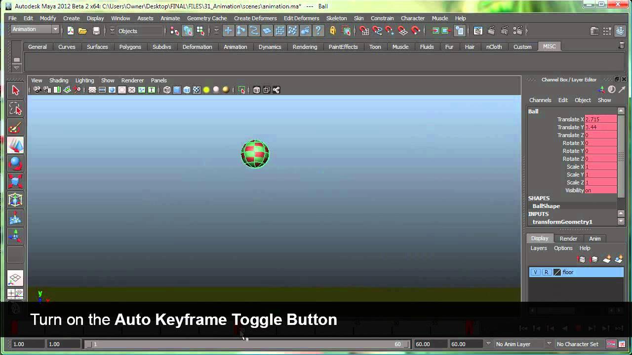 premiere using adding navigating setting keyframes