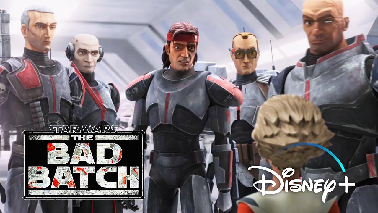 Звёздные Войны: Бракованная партия — Официальный трейлер (2021) | Star Wars: The Bad Batch