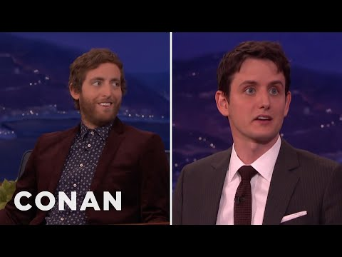 Thomas Middleditch On Zach Woods' Burgeoning Sex Symbol Status  - CONAN on TBS