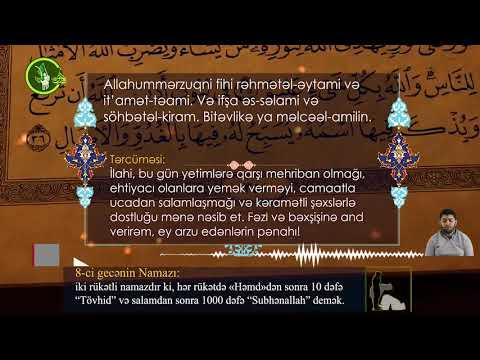 Mübarək #Ramazan2020 ayının 8-ci gününün – #DUASI Hacı Rahib