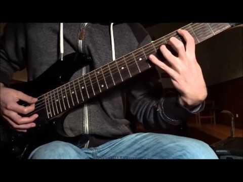 Meshuggah Guitar Lesson - Obsidian (The Clean Part)