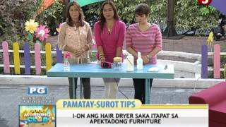 N5E: May 7, 2013 l Pamatay Surot Tips