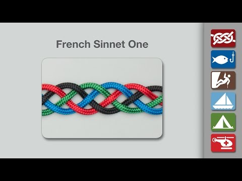 How to Tie the French Sinnet One