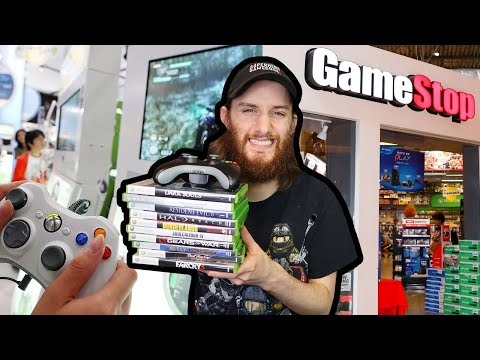 Buying Xbox 360 Games From Gamestop Online