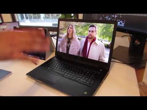 Dell Precision 7000 and 5000 series mobile workstations with Coffee Lake-H