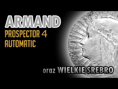 ARMAND Prospector 4, Automatic i wielkie srebro!