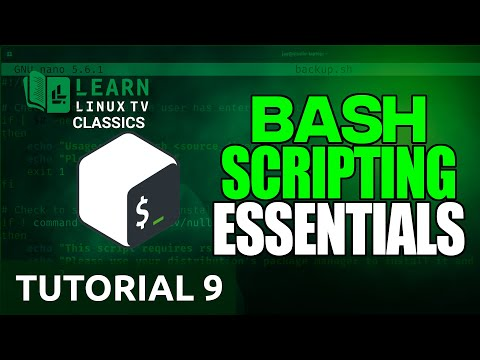 Introduction to Bash Scripting 09 - Standard Input, Output, & Error