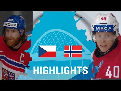 Czech Republic - Norway | Highlights | #IIHFWorlds 2017