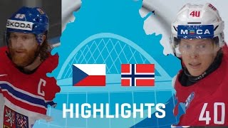 Czech Republic - Norway | Highlights | #IIHFWorlds 2017