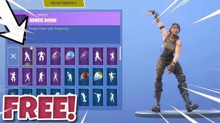How To Unlock The *Boogie Down* Emote *FREE* In Fortnite! Fortnite NEW FREE Boogie Down Dance!