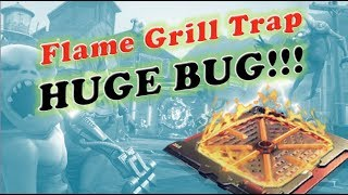 Fortnite Bug on New Flame Grill Trap