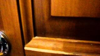 Реставрация двери на дому Как было и как стало