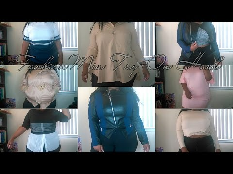 "QFW: 6 | FashionMia Try-On/Review | ""Plus Size"" Clothing"