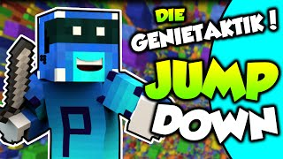 DIE GENIETAKTIK! | Minecraft JUMP DOWN | Platour [Deutsch] [HD]