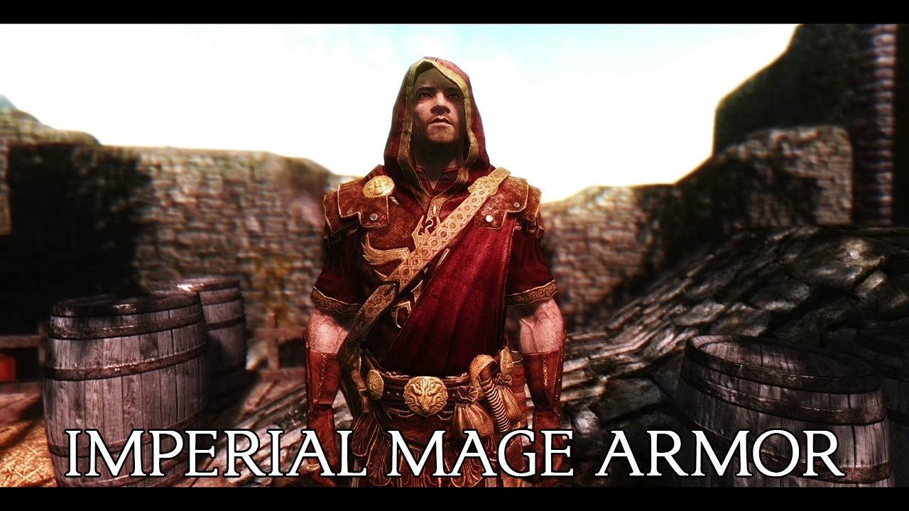 Imperial Mage Armor by Natterforme at Skyrim Nexus - mods
