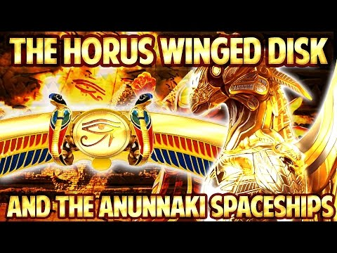 The Horus WINGED DISK and the ANUNNAKI Spaceships ...