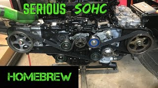 SOHC EJ257 Hybrid Build Part 7 - Cylinder Heads / Timing Install