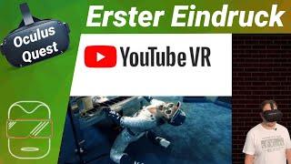 Oculus Quest - 360 Grad Videos gucken mit Youtube VR (deutsch) Erster Eindruck Filme / Test / Review