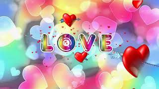 LOVE футаж Animation любовь анимация.Любовь,💕 сердечки Футаж видеофон Intro Heart Love Background