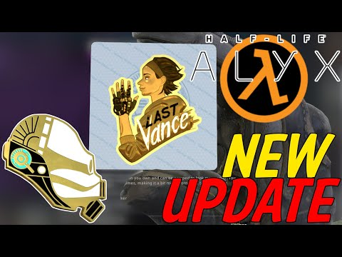 HALF-LIFE: ALYX Update ALL New Pins, Sticker And Patches   Counter-Strike: Global Offensive
