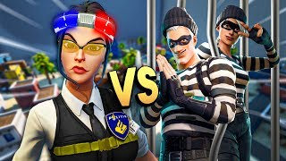 COPS vs ROBBERS in Fortnite!