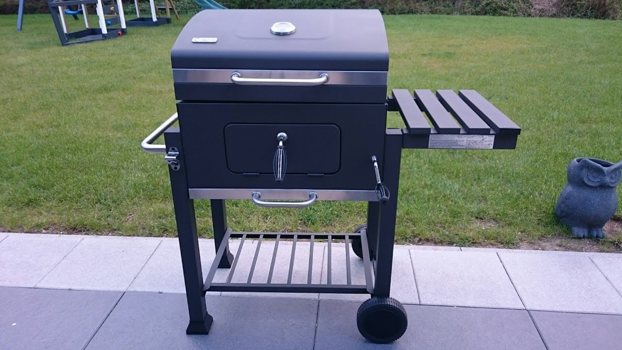 tepro toronto holzkohlegrill kohle grill bbq smoker 1061 el fuego activa angular grillchef. Black Bedroom Furniture Sets. Home Design Ideas