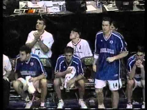 2002 FIBA World Chamionship quarter final USA-Yugoslavia