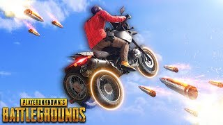 BIKE STUNT GONE HORRIBLY WRONG... !!!   Best PUBG Moments and Funny Highlights - Ep.318