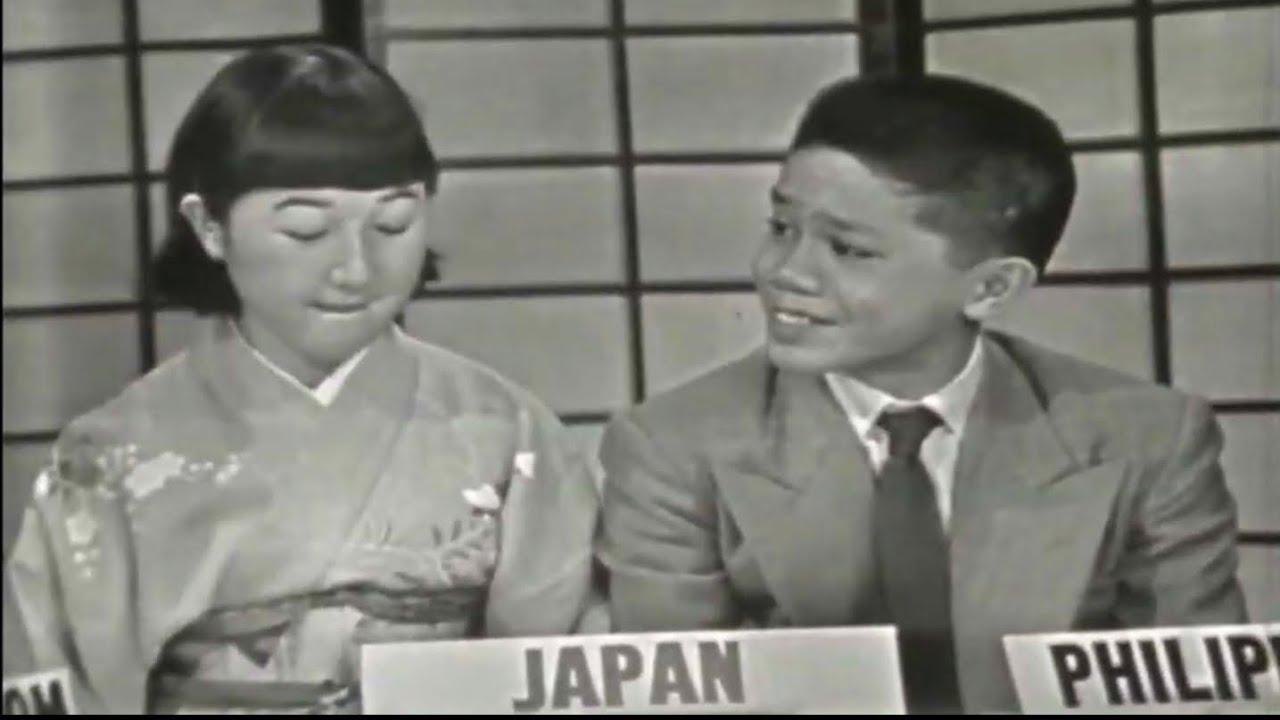 Download 1956 High School Exchange Students in USA Debate on Prejudice (2): Philippines, Japan, UK, Indonesia