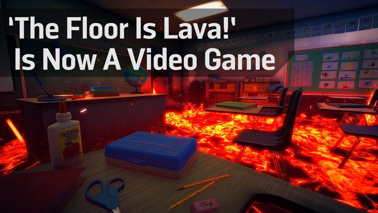 The Floor Is Lava Is Now A Video Game Youtube