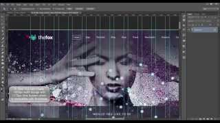 PHOTOSHOP TUTORIAL: How to make 1175px Grid System with 1920px size