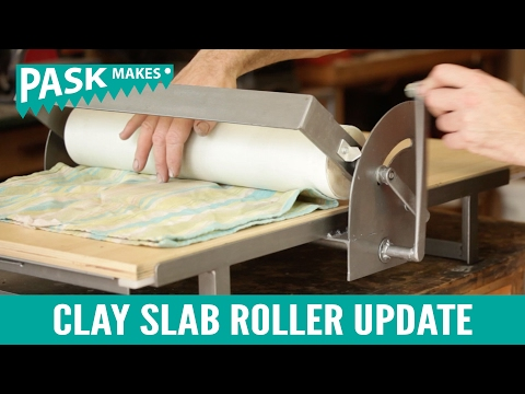 Clay Slab Roller Update