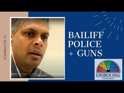 Illegal Bailiff Turns Up With Police And Guns