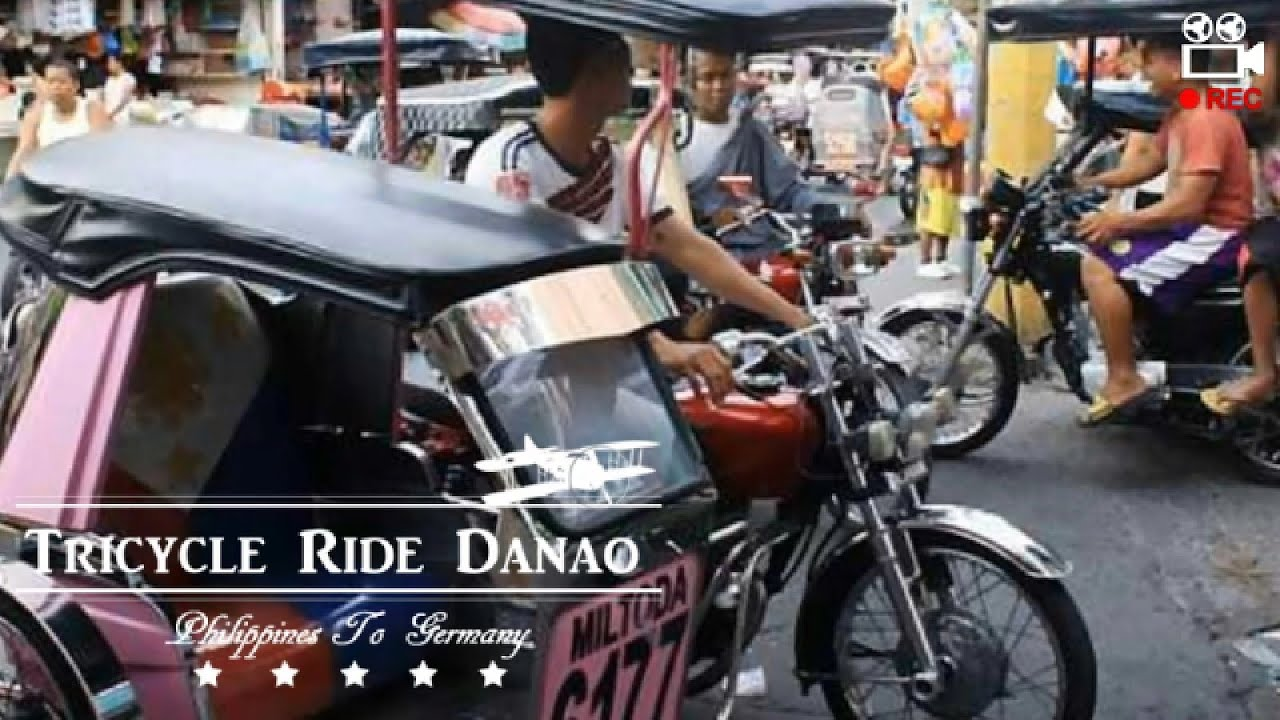 Philippines - Tricycle Ride to Danao City (Cebu)