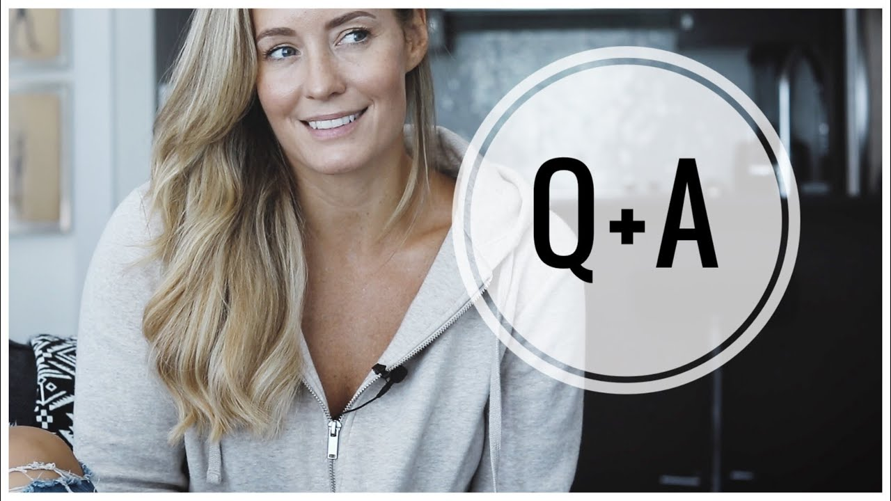 <div>Q&A + Free Workout Schedule! // My Diet, Training, Skincare + More.</div>