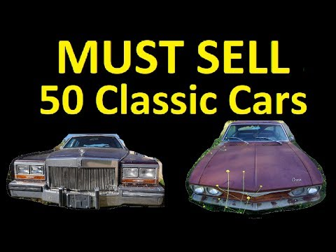 FREE CAR JULY ~ CLEARANCE SALE CLASSIC CARS FOR SALE $250 - $3850 #2