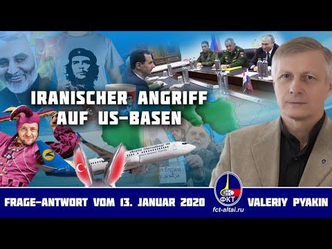 Iranischer Angriff auf US-Basen (Valeriy Pyakin 2020.01.13)