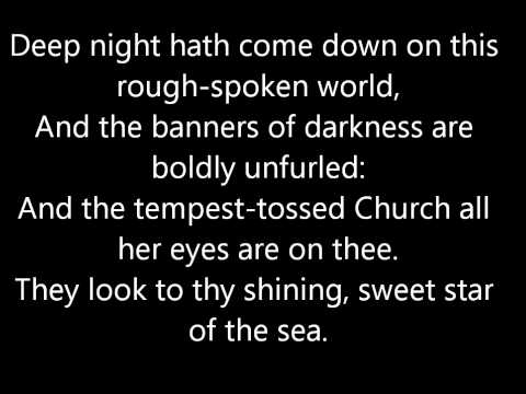 Catholic Hymnal: O Purest of Creatures! sweet mother, sweet maid