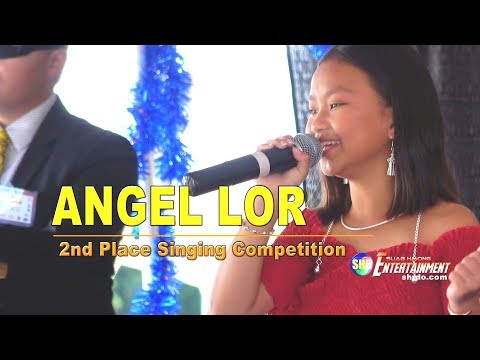 SUAB HMONG ENTERTAINMENT:  ANGEL LOR ~ 2nd Place In Singing Competition At 2018 HWF